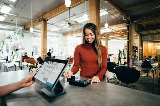 point of sale system transaction
