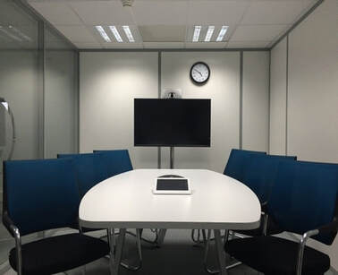 Setup of a video conference meeting room